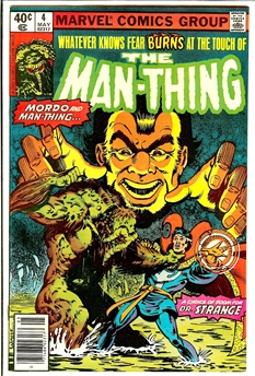 Man-Thing (Vol 2) #4