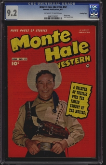 Monte Hale Western #82