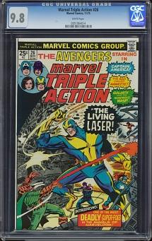 Marvel Triple Action #26