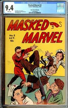 Masked Marvel #2