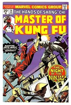 Master of Kung Fu #36