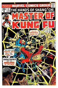 Master of Kung Fu #37