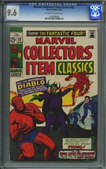Marvel Collectors' Item #22