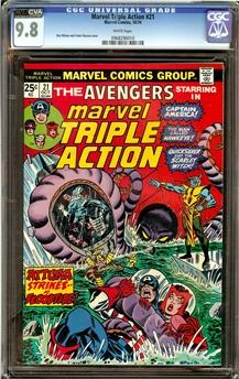 Marvel Triple Action #21