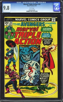 Marvel Triple Action #20
