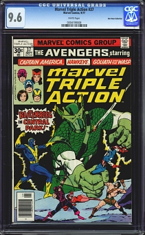 Marvel Triple Action #37