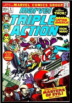 Marvel Triple Action #9