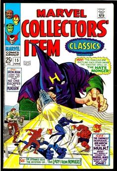 Marvel Collectors' Item #15