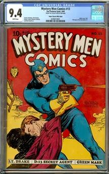 Mystery Men Comics #13
