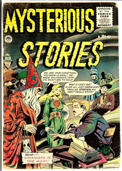 Mysterious Stories #6