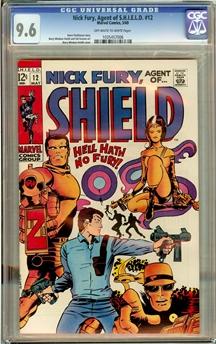 Nick Fury #12