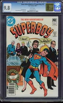 New Adventures of Superboy #8