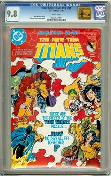 New Teen Titans (Vol 2) #15