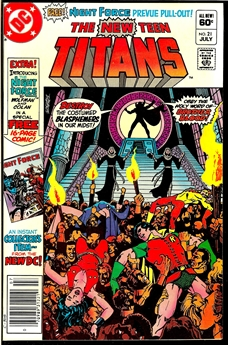 New Teen Titans #21