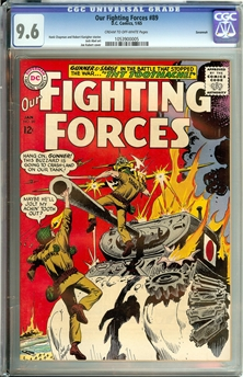 Our Fighting Forces #89