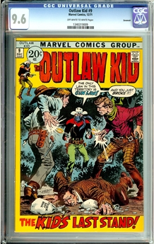 Outlaw Kid #9