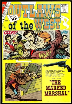 Outlaws of the West #32