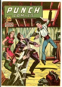 Punch Comics #18