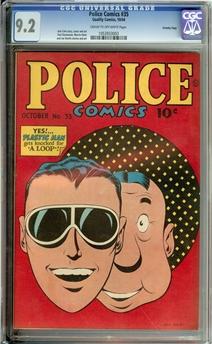 Police Comics #35