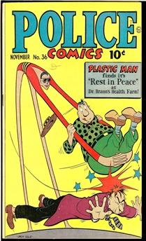 Police Comics #36