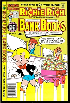 Richie Rich Bank Books #46