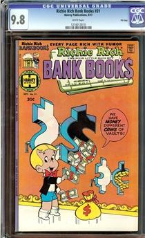 Richie Rich Bank Books #31