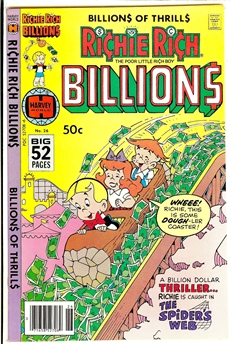 Richie Rich Billions #26