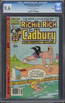 Richie Rich & Cadbury #14