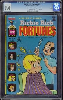 Richie Rich Fortunes #13