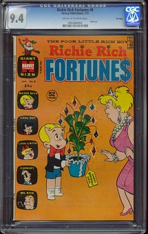 Richie Rich Fortunes #8