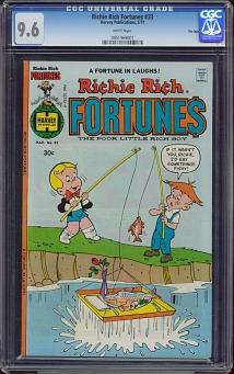 Richie Rich Fortunes #33
