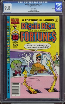 Richie Rich Fortunes #62