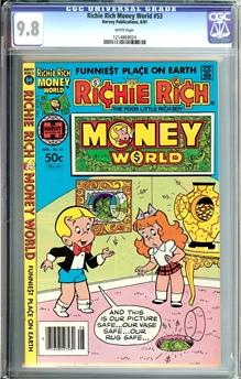 Richie Rich Money World #53