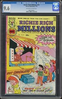 Richie Rich Millions #75