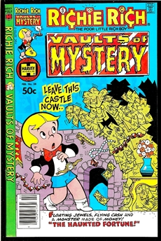 Richie Rich Vaults of Mystery #38
