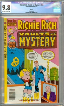 Richie Rich Vaults of Mystery #24