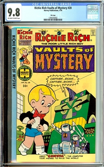Richie Rich Vaults of Mystery #20