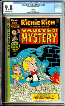 Richie Rich Vaults of Mystery #22