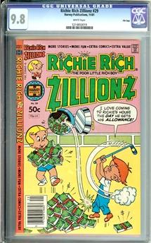 Richie Rich Zillionz #29