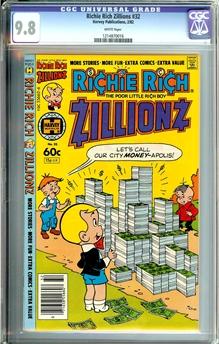 Richie Rich Zillionz #32