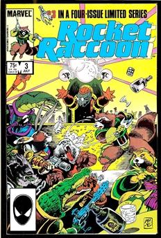 Rocket Raccoon #3