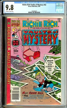 Richie Rich Vaults of Mystery #42