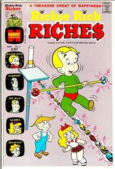 Richie Rich Riches #9