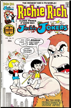 Richie Rich and Jackie Jokers #19