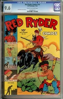 Red Ryder Comics #14