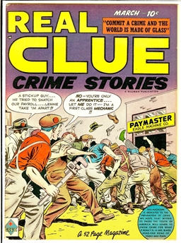 Real Clue Crime Stories V4N1