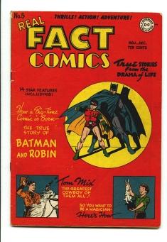 Real Fact Comics #5
