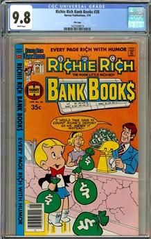 Richie Rich Bank Books #38