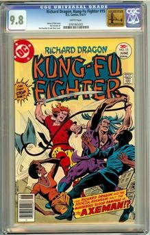 Richard Dragon Kung-Fu Fighter #15
