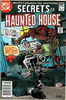 Secrets of Haunted House #38